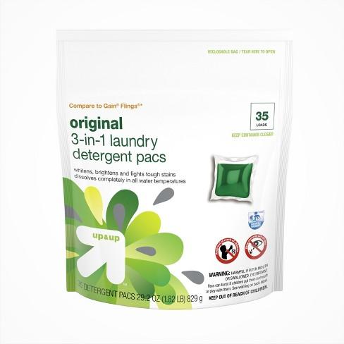 Original He Liquid Laundry Detergent 35ct Up Compare To Gain Flings