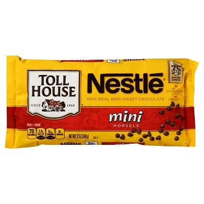 Nestle Toll House Semi-Sweet Chocolate Mini Morsels - 12oz