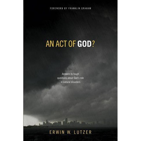 An Act of God? - by  Erwin W Lutzer (Paperback) - image 1 of 1