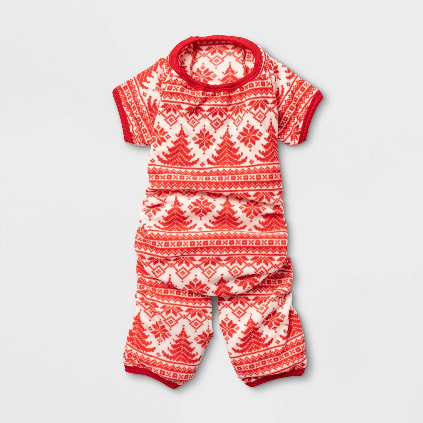 Fair Isle Holiday Dog and Cat Pajamas - Wondershop™ - image 2 of 4