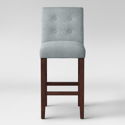 29  Modern Parsons Barstool with Buttons Gray - Project 62™
