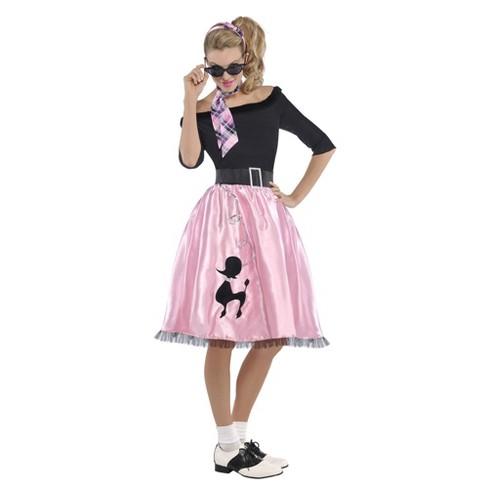 Women's Sock Hop Sweetie Halloween Costume - image 1 of 1