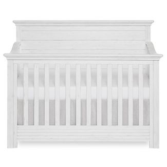 Evolur Waverly May 5-in-1 Full Panel Convertible Crib - Weathered White