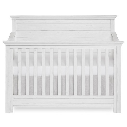 Evolur Waverly May 5-in-1 Full Panel Convertible Crib - Weathered White - image 1 of 4