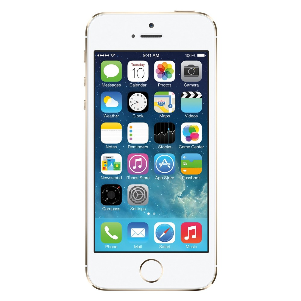 Apple iPhone 5s Pre-Owned (GSM Unlocked) 16GB Smartphone - Gold