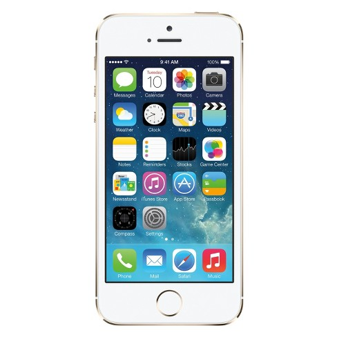 Apple iPhone 5s Pre-Owned (GSM Unlocked) 16GB Smartphone - Gold - image 1 of 2