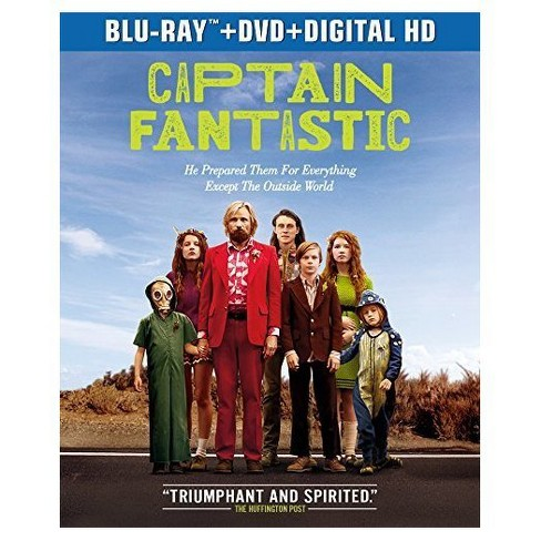 Captain Fantastic (Blu-ray + DVD + Digital) - image 1 of 1