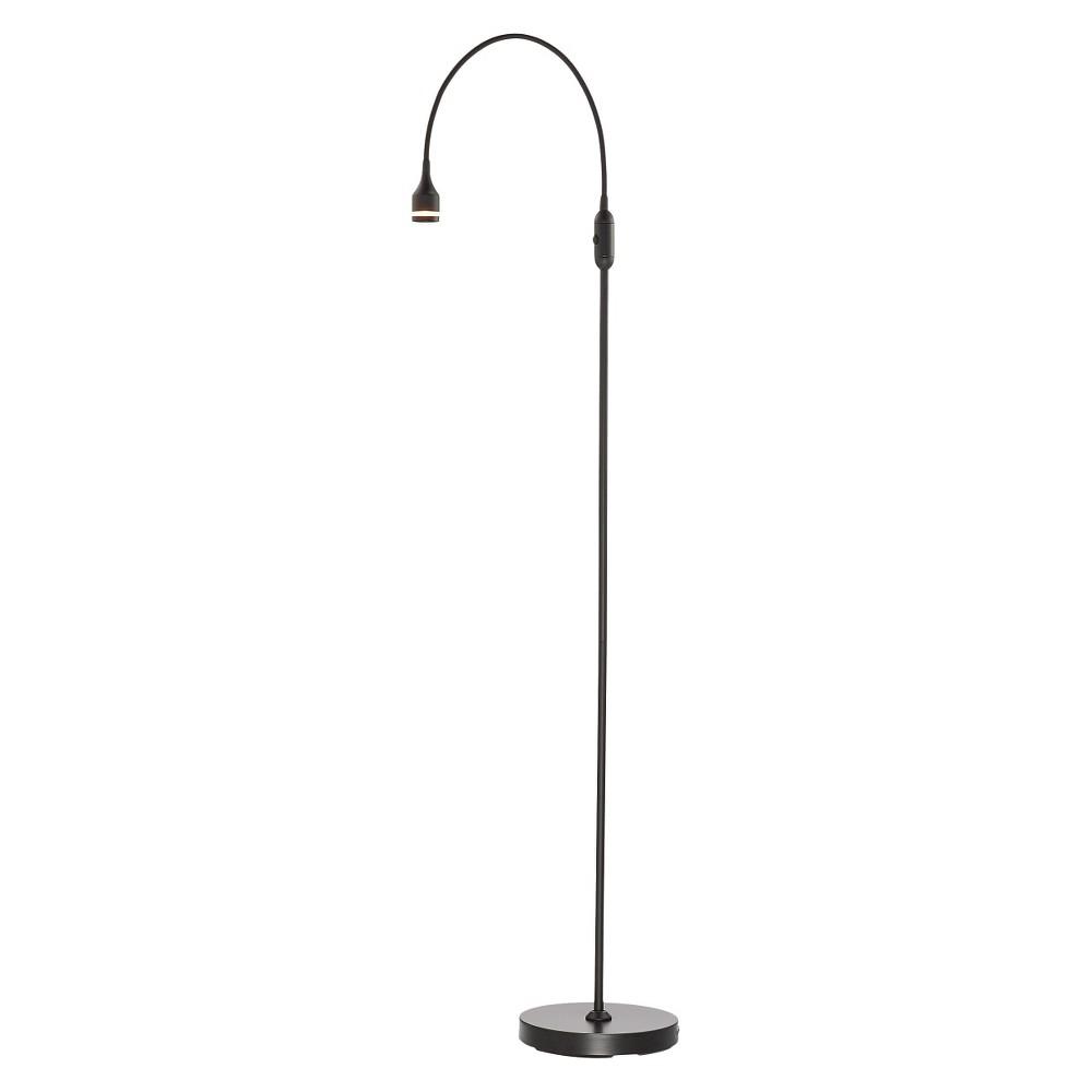 Image of Adesso Prospect Led Floor Lamp - Black