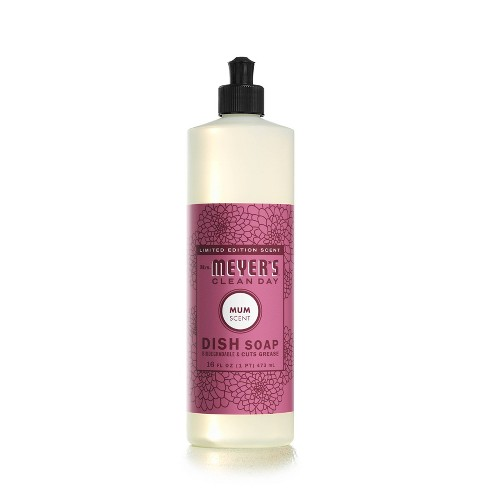 Mrs. Meyer's Clean Day Dish Soap - Mum - 16 fl oz - image 1 of 3