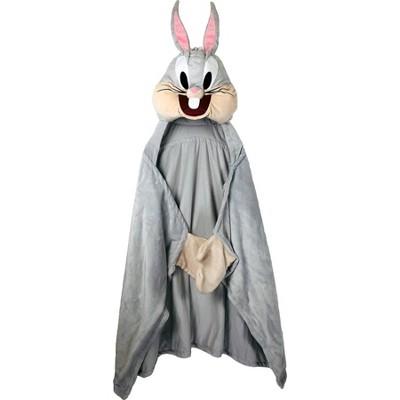 Space Jam Bugs Bunny Hooded Blanket