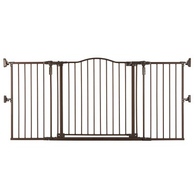 "Toddleroo by North States Gathered Home Baby Gate - Matte Bronze - 38.3""-72"" Wide"