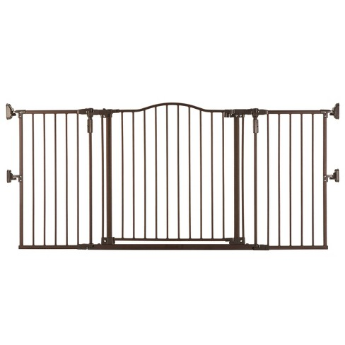 """Toddleroo by North States Gathered Home Baby Gate - Matte Bronze -  38.3""""-72"""" Wide - image 1 of 4"""