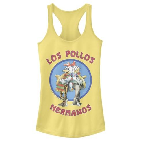 Junior's Breaking Bad Los Pollos Hermanos Chicken Logo Racerback Tank Top - image 1 of 1