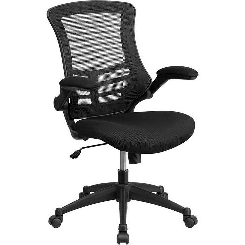 Riverstone Furniture Collection Mid Back Task Mesh Chair Black - image 1 of 8