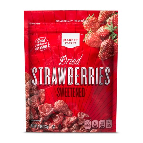 Dried Strawberries - 4oz - Market Pantry™ - image 1 of 1