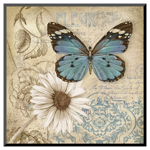 Art.com - Butterfly Garden II by Conrad Knutsen - Mounted Print - image 1 of 1