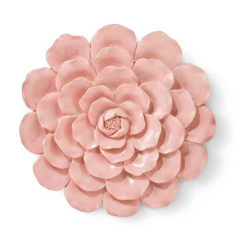 Pink Flower Wall Décor - Pillowfort™ : Target