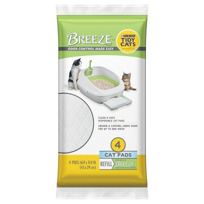 Tidy Cat Breeze Litter Pads - 4ct