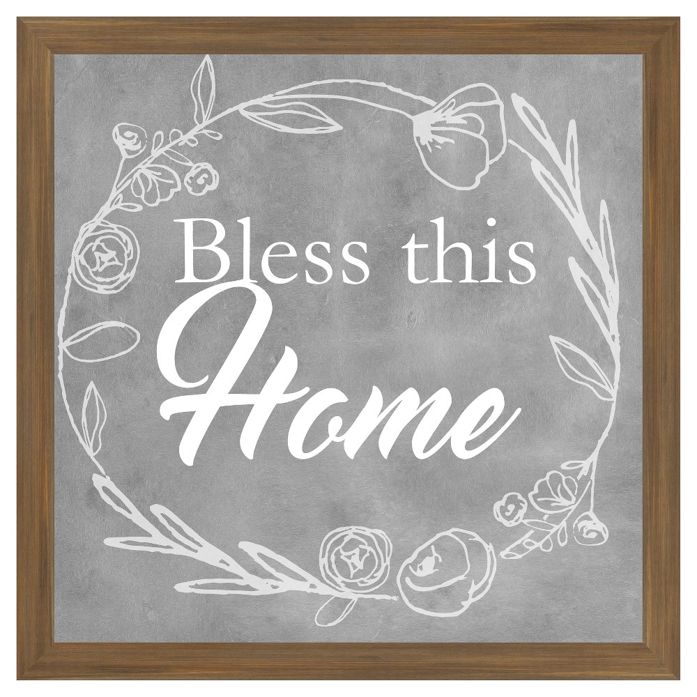 Bless This Home 18X18 Wall Art, Multi-Colored