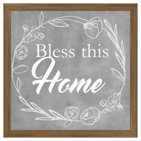Bless This Home 18X18 Wall Art : Target