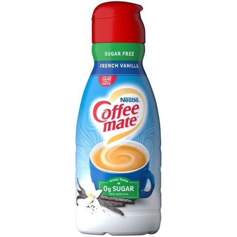 Coffee Mate Sugar Free French Vanilla Coffee Creamer - 1qt - image 1 of 3