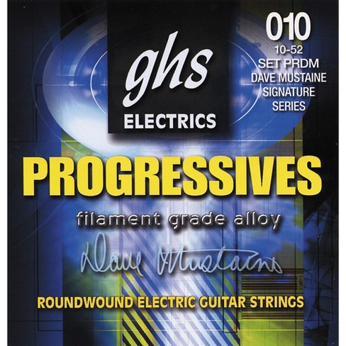 GHS Dave Mustaine Signature Electric Guitar Strings - image 1 of 1