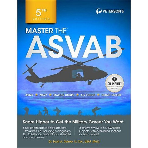 Master the ASVAB with CD - 5 Edition by Scott Ostrow (Paperback)