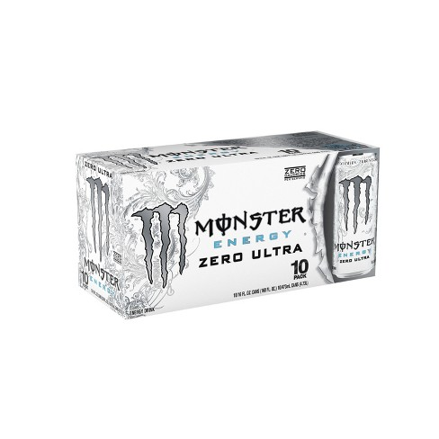 Monster Zero Ultra Energy Drink - 10pk/16 fl oz Cans - image 1 of 2