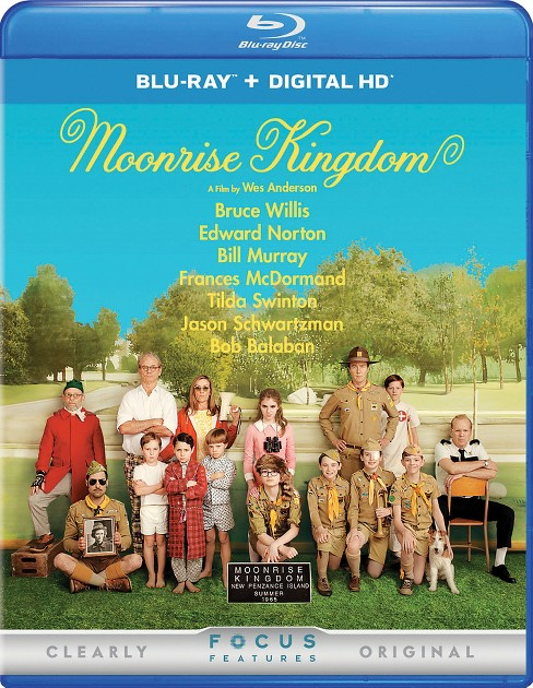 Moonrise kingdom (Blu-ray) - image 1 of 1
