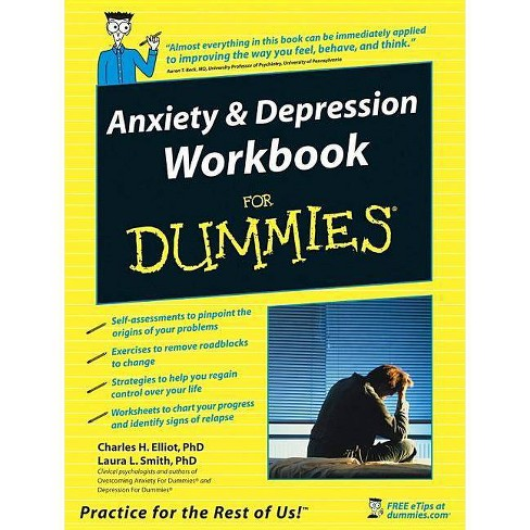 Anxiety and Depression Workbook for Dummies - (For Dummies) (Paperback) - image 1 of 1