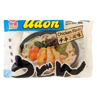 Myojo Udon Chicken Flavor Japanese Style Noodles with Soup Base - 7.22oz