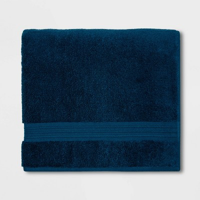 Spa Bath Towel Dark Blue - Threshold Signature™