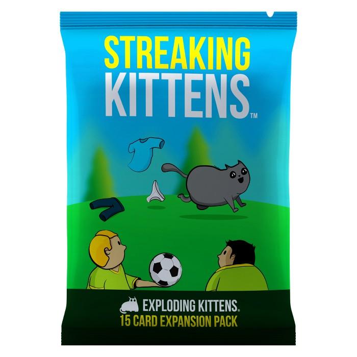 Streaking Kittens Game - Second Expansion Of Exploding Kittens : Target