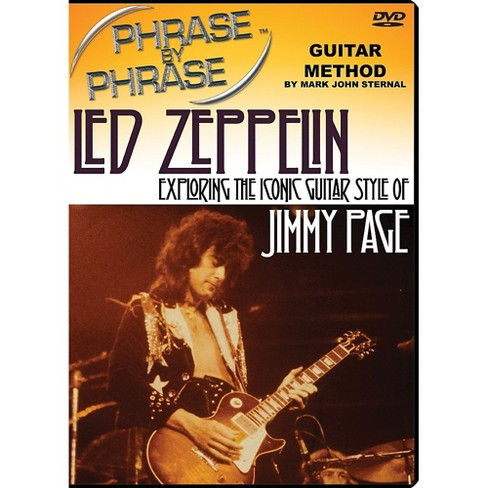 MJS Music Publications Phrase By Phrase Guitar Method - Led Zeppelin: Exploring The Iconic Guitar Style Of Jimmy Page - image 1 of 1