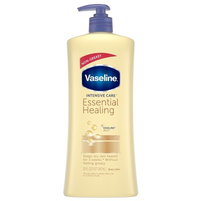 Vaseline Intensive Care Body Lotion Essential Healing 32oz