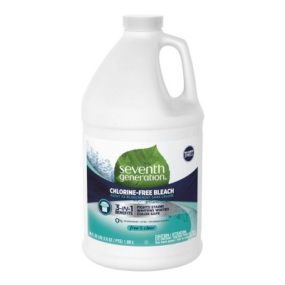 Bleach: Seventh Generation Chlorine Free Bleach