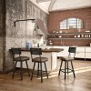 """Amisco Wilson 30"""" Bar Stool with Upholstered Seat - image 2 of 2"""