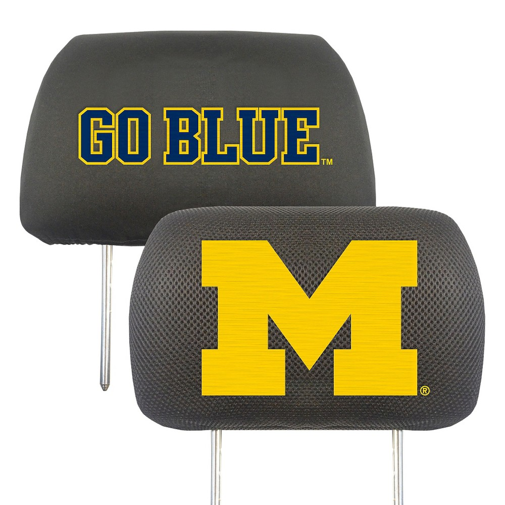 University of Michigan Head Rest Cover