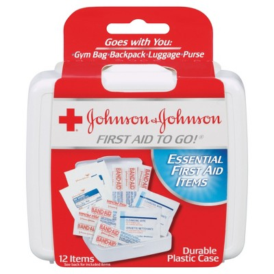 Johnson & Johnson Essential First aid Items - 12ct