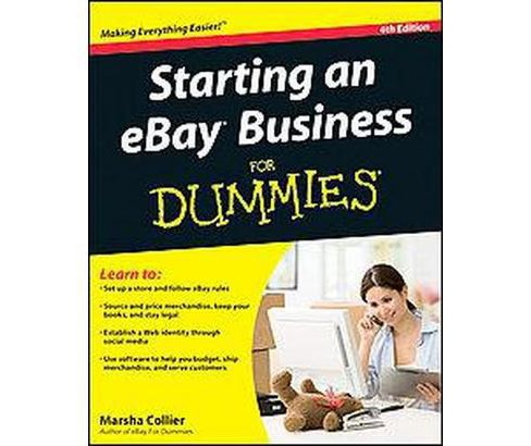 Starting an eBay Business for Dummies (Paperback) (Marsha Collier) - image 1 of 1