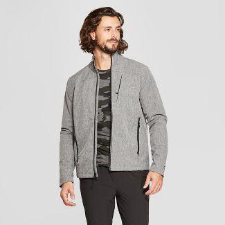Men's Woven Softshell Jacket - C9 Champion® Black Heather XL