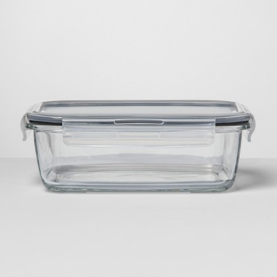 Rectangular Glass Food Storage Container 5.1 cup - Made By Design™