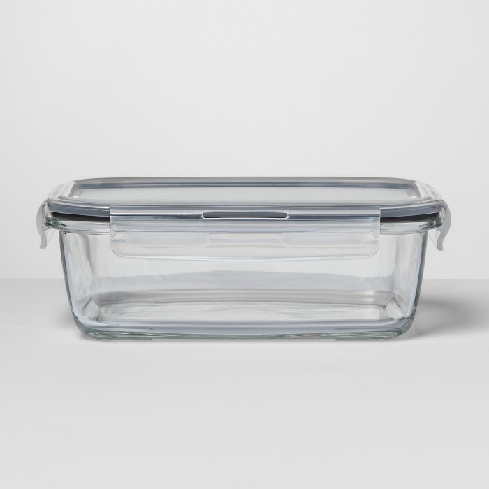 Rectangular Glass Food Storage Container - Made By Design™ - image 1 of 4