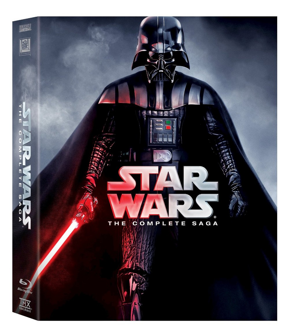 Star Wars The Complete Saga (Episodes I-VI) [Blu-ray]