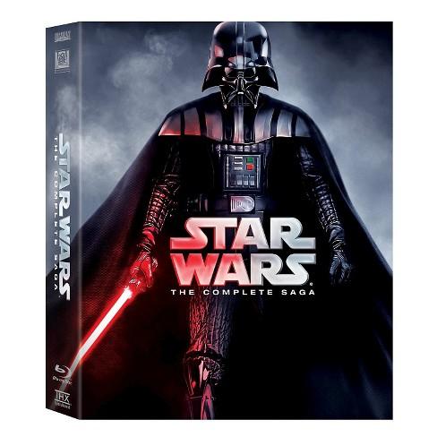 Star Wars: The Complete Saga (Episodes I-VI) [Blu-ray] - image 1 of 1