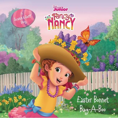 Disney Junior Fancy Nancy: Easter Bonnet Bug-A-Boo - by  Krista Tucker (Hardcover)