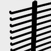 2pk Tie and Belt Hanger Black - Made By Design™ - image 2 of 3