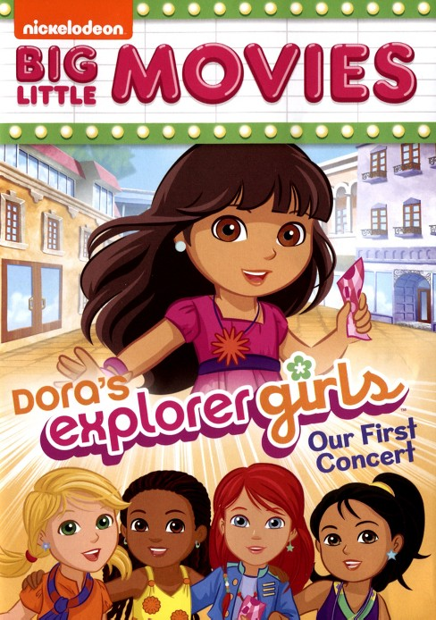 Dora the explorer:Dora explorer girls (DVD) - image 1 of 1