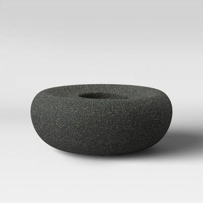 Outdoor Zen Fire Bowl - Graphite - Smith & Hawken
