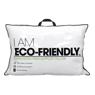 I AM Eco-Friendly Firm/Extra Firm Pillow - Standard/Queen